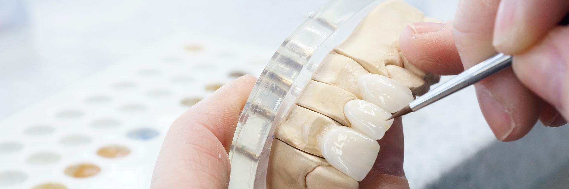 BM Dental laboratory at work